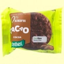 Galletas Cacao Digestive 0% azúcares - 3 unidades - Santiveri