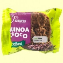 Galletas Quinoa Choco Digestive 0% azúcares - 3 unidades - Santiveri