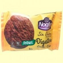 Galletas Digestive Noglut Cacao - 3 Unidades - Santiveri