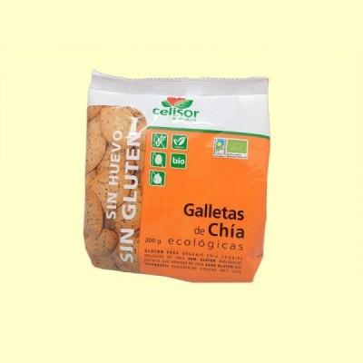 Galletas de Chía Ecológicas - 200 gramos - Soria Natural