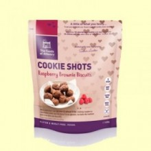 Mini Cookies Brownie de Frambuesa Sin Gluten - 120 gramos - The Foods of Athenry