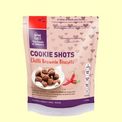 Mini Cookies Brownie de Chilli Sin Gluten - 120 gramos - The Foods of Athenry