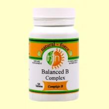 Complex B fórmula balanceada - 100 Tabletas - Nutri Force