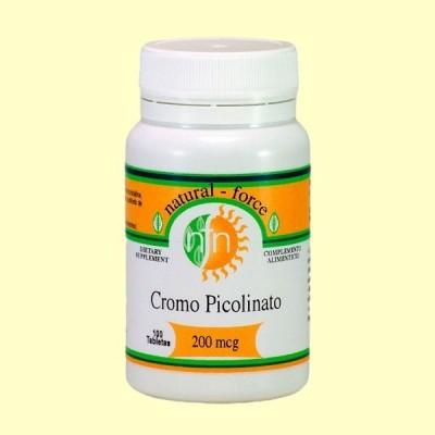 Cromo Picolinato - 100 Tabletas - Nutri Force