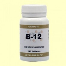 Vitamina B-12 - 100 Tabletas - Ortocel