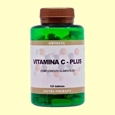 Vitamina C Plus + Citroflavonoides - 120 Tabletas - Ortocel