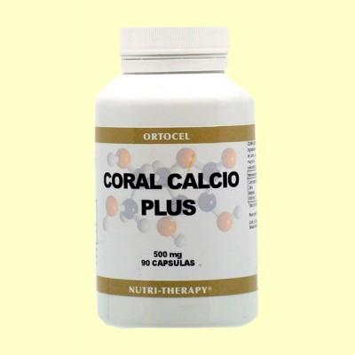 Coral Calcio Plus - 90 Cápsulas - Ortocel