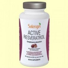 Active Resveratrol - 60 cápsulas - Salengei