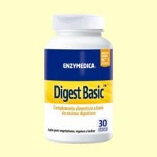 Digest Basic - 30 Cápsulas - Enzymedica