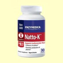 Natto-K - 30 Cápsulas - Enzymedica