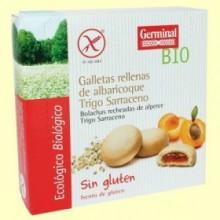 Galletas con Crema de Albaricoque - 200 g - Germinal