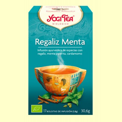 Regaliz Menta Bio - 17 infusiones - Yogi Tea