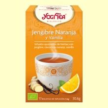 Jengibre Naranja y Vainilla Bio - 17 infusiones - Yogi Tea
