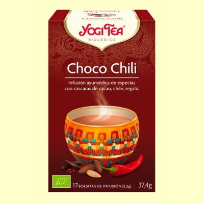 Choco Chili Bio - 17 infusiones - Yogi Tea