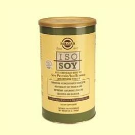 """""""Iso-Soy"""" Sabor a vainilla En polvo - Solgar - 568 gramos"""