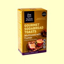 Tostadas Multisemillas Comino Sin Gluten - 110 gramos - The Foods of Athenry *