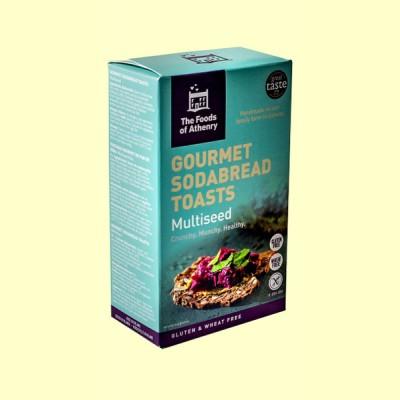 Tostadas Multisemillas Sin Gluten - 110 gramos - The Foods of Athenry