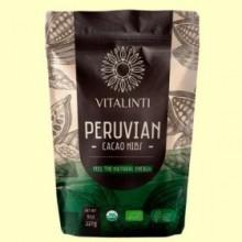Cacao Nibs - Cacao en Trozos Bio - 227 gramos - Vitalinti