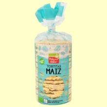 Tortitas de Maíz con Sal y Sin Gluten Bio - 120 gramos - La Finestra sul Cielo