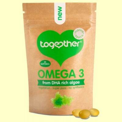Omega 3 (DHA de Algas) - 30 Cápsulas - Together
