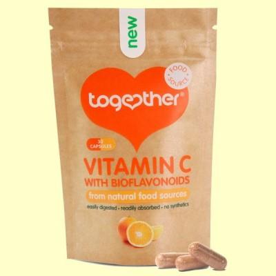Vitamina C con Bioflavonoides - 30 Cápsulas - Together