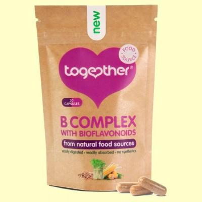 B Complex + Vitamina C y Bioflavonoides - 30 Cápsulas - Together