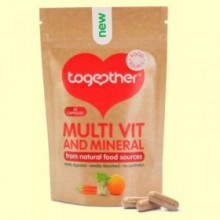 Multivitaminas y Minerales - 30 Cápsulas - Together