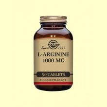 L-Arginina 1000 mg - 90 cápsulas - Solgar