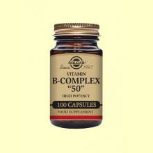 Vitamina B-Complex 50 - 100 cápsulas - Solgar