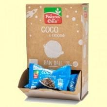 Energy ball Coco & Cacao Bio - 25 gramos - La Finestra sul Cielo