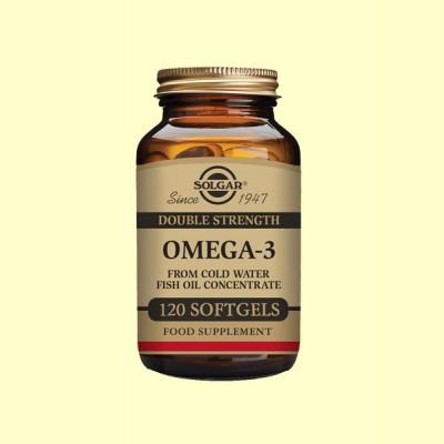 Omega 3 - 120 cápsulas blandas - Solgar