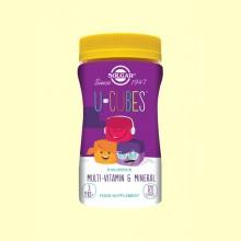 U-Cubes Gominolas Masticables para Niños - 120 gominolas - Solgar