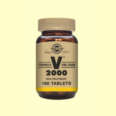 Fórmula VM-2000 - Fórmula Multinutriente - 180 comprimidos - Solgar