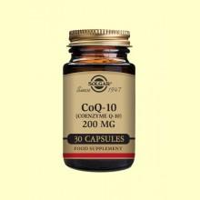 Coenzima CoQ-10 - 200 mg - 30 cápsulas - Solgar