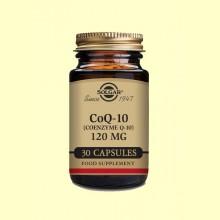 Coenzima CoQ-10 - 120 mg - 30 cápsulas - Solgar