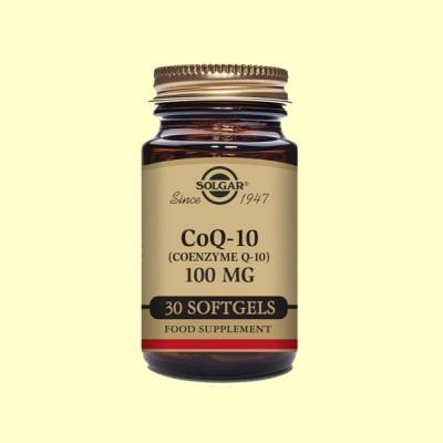 Coenzima CoQ-10 - 100 mg - 30 cápsulas - Solgar
