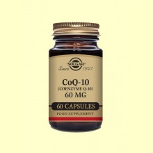 Coenzima CoQ-10 - 60 mg - 60 cápsulas - Solgar