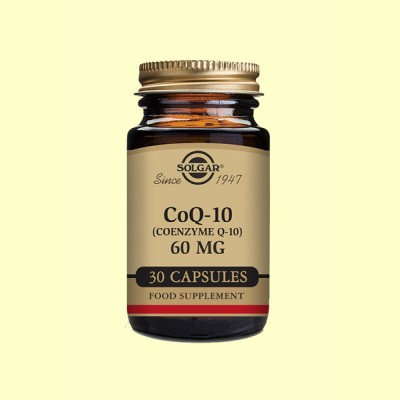 Coenzima CoQ-10 - 60 mg - 30 cápsulas - Solgar