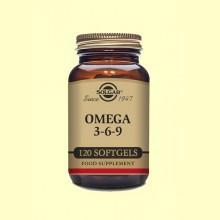 Omega 3-6-9 - 120 cápsulas blandas - Solgar