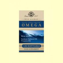 Full Spectrum OMEGA - 120 cápsulas - Solgar