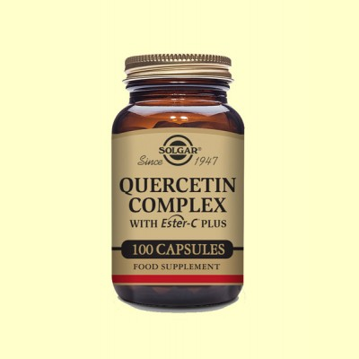 Quercitina Complex - Vitamina C - 100 cápsulas vegetales - Solgar