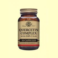 Quercitina Complex - Vitamina C - 50 cápsulas vegetales - Solgar