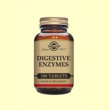 Enzimas Digestivas - 100 comprimidos - Solgar