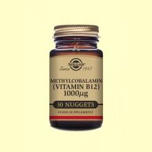 Metilcobalamina - Vitamina B12 1000 g - 30 comprimidos - Solgar