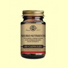 Neuro Nutrientes - 60 cápsulas - Solgar