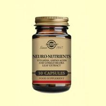 Neuro Nutrientes - 30 cápsulas - Solgar