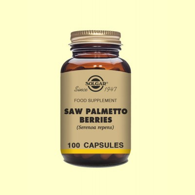 Sabal Bayas - 100 cápsulas vegetales - Solgar