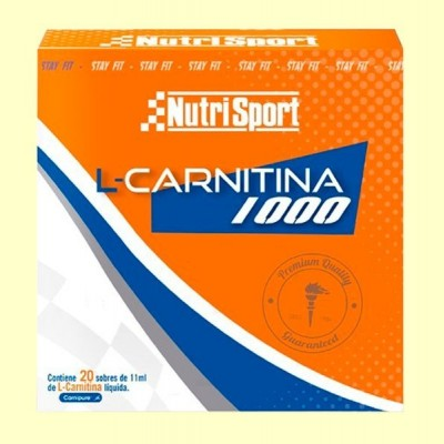 L-Carnitina - 220 ml - NutriSport
