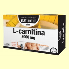 L-Carnitina 3000 Slim - 20 ampollas - Naturmil