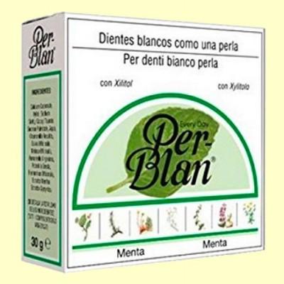 Dentífrico en Polvo Menta - 30 gramos - Perblan